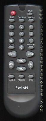 Original Haier Remote Control for  15HL25S, 20AL25S, HLE20BB