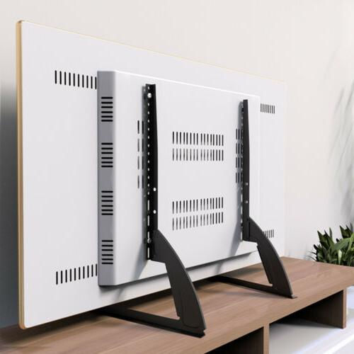 TV Stand Base Mount Flat Panel Holder Heavy Duty Fr 22-55 So