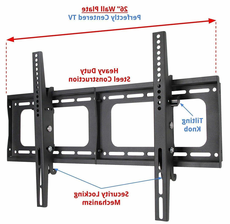 Husky Mount Tilting TV Wall Mount Flat Screen 32 40 42 50 52