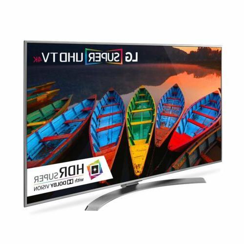 LG UH7700 65UH7700 65 2160p LED-LCD TV 16:9 4K UHDTV - 3840 x - Dolby ULTRA 20 W - 3 USB Wireless -