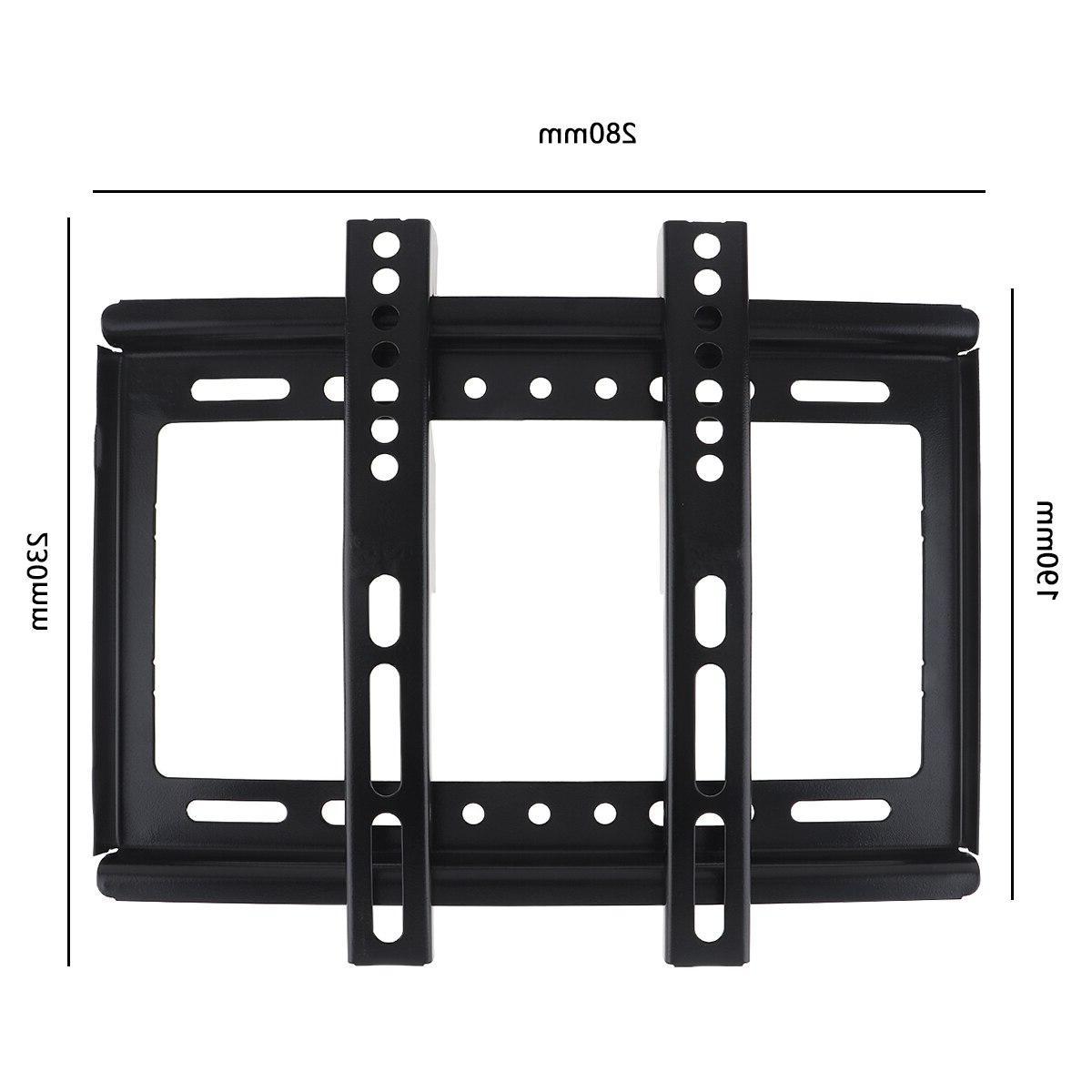 Universal Thin <font><b>Wall</b></font> <font><b>Mount</b></font> Panel Gradienter 14-42 LCD Pan