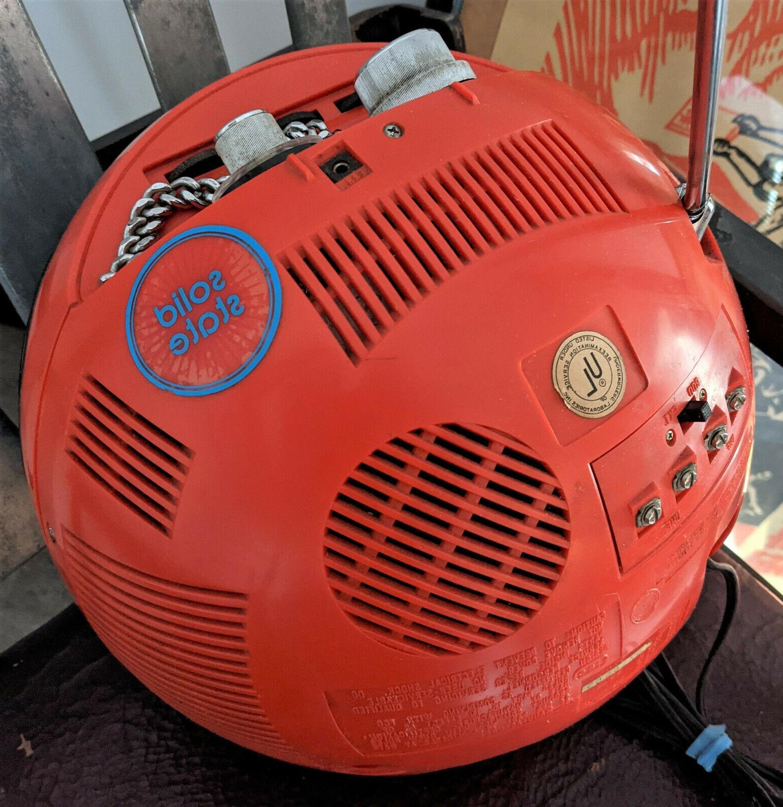 Vintage Age / Helmet CRT Television