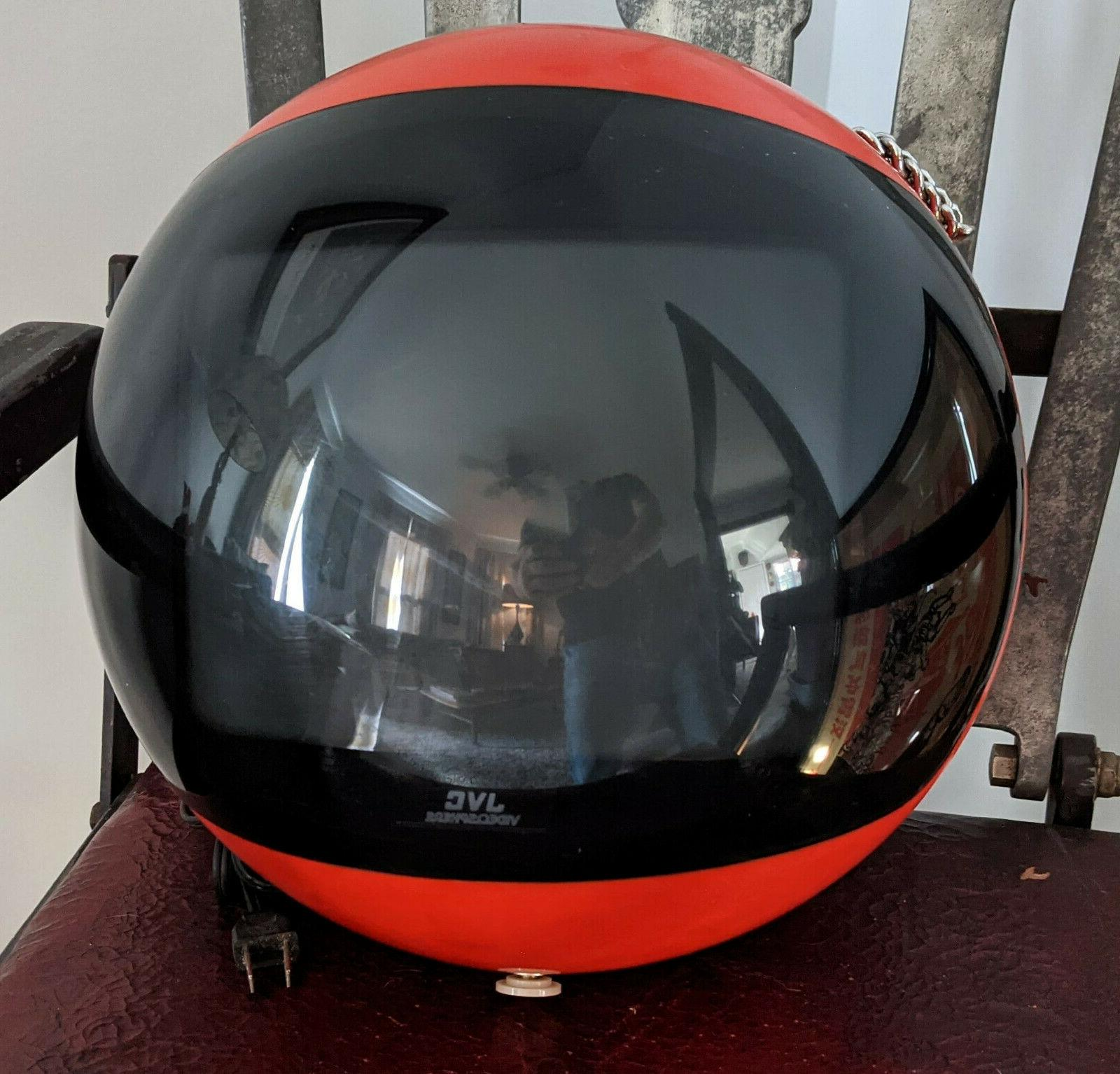 vintage videosphere space age helmet crt television