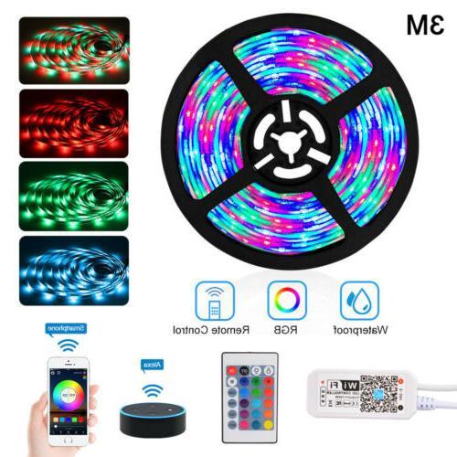 Wifi USB Operate 3m Light RGB LED Strip TV Backlight Waterpr