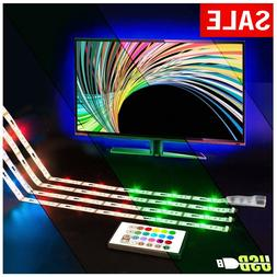LED TV Backlight USB Powered  LED Strip Lights for 40 to 60