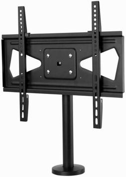 Mount-It! Bolt Down TV Stand | Swivel Table Top TV Mount for
