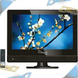 """NEW Supersonic 13.3"""" 720p LED TV, AC/DC Compatible for RV/Bo"""