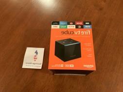 New Amazon Fire TV Cube Smart Assistant Alexa 4K Ultra HD St