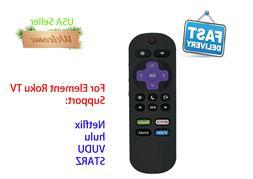 New Replace Element Roku TV Remote Control E2SW6518RKU E4SW5