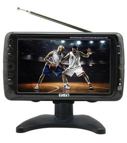 NAXA Electronics NT-70 7' Portable TV & Digital Multimedia P
