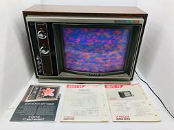 rare 1972 sony 17 inch trinitron 1730r