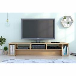 Nexera Rustik 72 in. TV Stand - Natural Maple