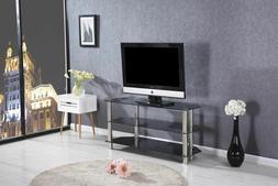 Woodpeckers Furniture Model TV100 Dark Tint, 3 Tier, Glass T