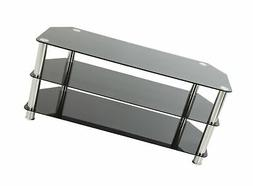 AVF SDC1000-A  TV Stand for up to 50-inch TVs, Black Glass,