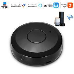 Smart WiFi IR Remote Controller for TV Alexa Google Home Voi