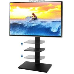 32 to 65 inch Swivel Floor TV Stand with Mount and Metal Sup