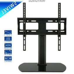 Universal Tabletop TV Stand with Swivel Mount for 27-55 inch