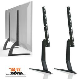 Table Top TV Stand Base Bracket Monitor Riser For 17-55 Sams