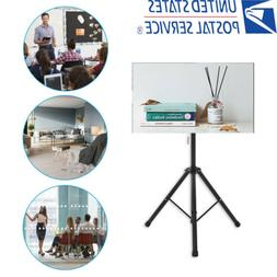 Tripod TV Display Floor Stand Height Adjustable Mount for 26