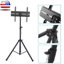 Tripod TV Display Portable Floor Stand Height Adjustable Mou