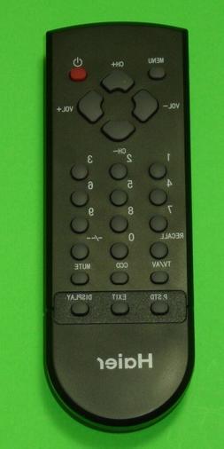 HAIER TV-5620-66 TV REMOTE CONTROL HTAF15 HTAF21B HTN19R12R