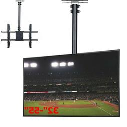 Height Adjustable and Tilt TV Ceiling Mount for LCD LED Flat
