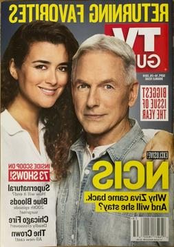 TV Guide Magazine  - SEPT 16-29,   2019  -  EXCLUSIVE NCIS -