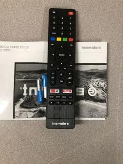 Element TV remote control With Battery