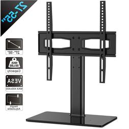 TV Stand Universal Table Top Tv Mount Flat Screen TV Base Fi