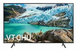 "Samsung UN43RU7100 43"" Smart 4K Ultra HD TV with Google Assi"