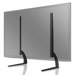 Universal Table Top TV Stand For Flat Or Curved Screen With