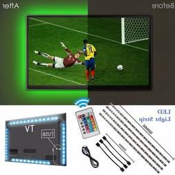 USB 5V LED Strip Light TV Backlight 5050 RGB Bias Light Colo