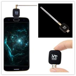 Useful Micro USB DVB-T HD TV Tuner Receiver Dongle+Antenna F