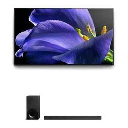 """Sony Sony XBR-65A9G 65"""" BRAVIA OLED 4K HDR TV and HT-X9000F"""