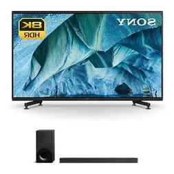 "Sony XBR-85Z9G 85"" 8K UHD HDR TV and HT-X9000F 2.1-Channel S"