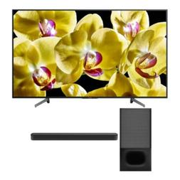 Sony XBR-X800G 55-Inch 4K Ultra HD HDR Smart LED TV with Son